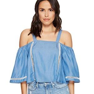 Lovers and friends denim top